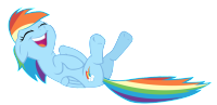 rainbow_dash_laughing_by_yanoda-d4t6e11