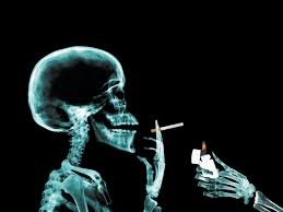 dead man smoking