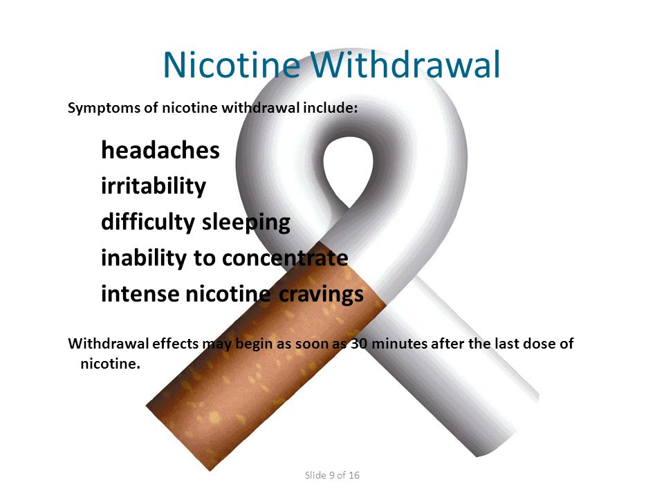 Nicotine Listed By Experts As Among The Most Addictive