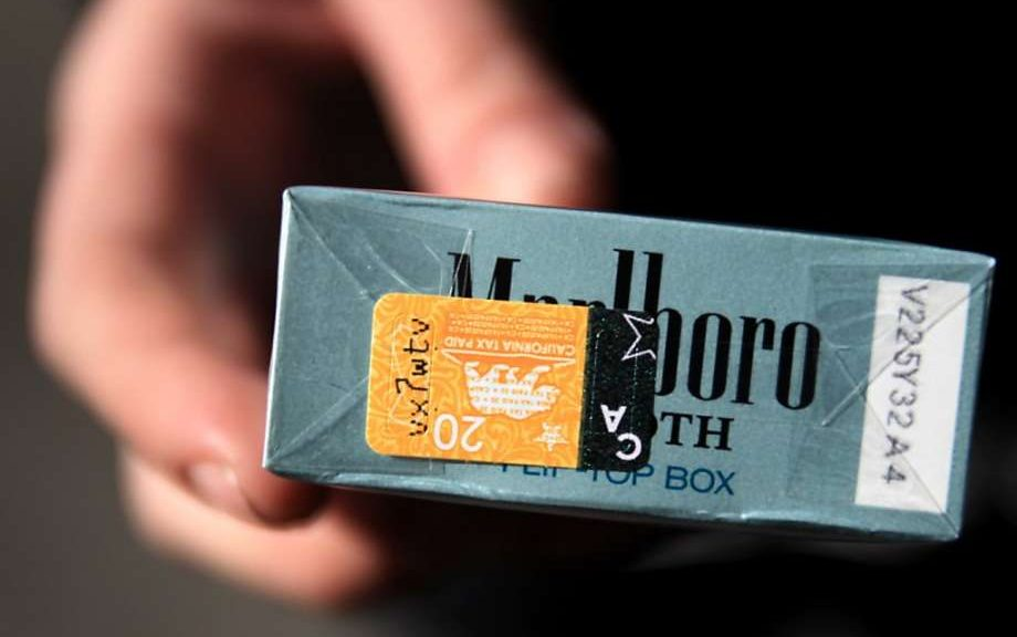 How much cost cigarettes Marlboro in Kansas